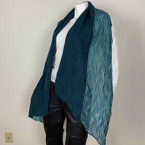 Gypsy and Lolo blue two tone scarf *New*